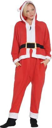 Forever Lazy Fleece Adult Onesie with Pocket, Hood & Removable Feet