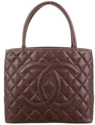 Chanel Quilted CC Tote