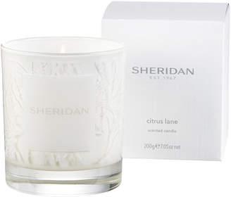 Sheridan シトラス グラスキャンドル