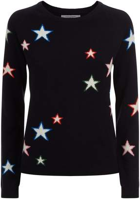 Chinti and Parker 3D Star Cashmere Sweater