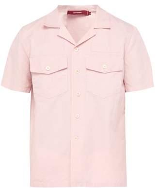 Sies Marjan Dean Cotton Blend Twill Shirt - Mens - Pink
