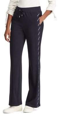 169926f2473 Lauren Ralph Lauren Tuxedo-Striped Stretch Sweatpants