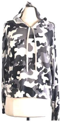 Central Park West Hoodie Grey Camouflage