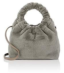 The Row Women's Circle Mink Fur Small Bag - Steel