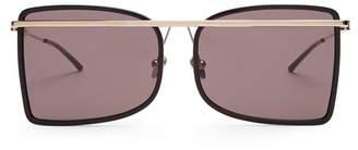 Calvin Klein D-frame metal sunglasses