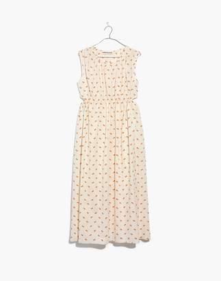 Madewell Caron Callahan Floral Goa Cutout Dress
