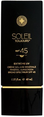 Soleil Toujours 40ml Extrème Uv Spf 45 Mineral Sunscreen