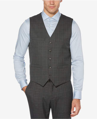 Perry Ellis Men's Slim Stretch Twill Vest
