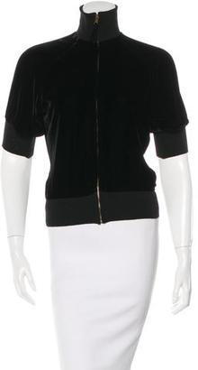 Jean Paul Gaultier Velvet Fitted Jacket $75 thestylecure.com