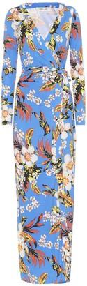 Diane von Furstenberg New Julian floral silk dress