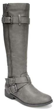 Fergalicious Mission Buckled Knee-High Boots