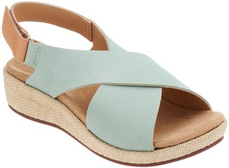 Spenco Orthotic Cross-Band Wedges - Marfa