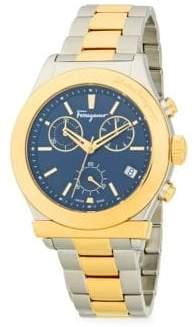 Salvatore Ferragamo Two-Tone Stainless Steel Bracelet Watch