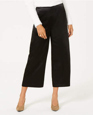 Bar III Satin Wide Leg Pants, Created for Macy's