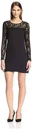 Society New York Women's Lace Yoke Dress