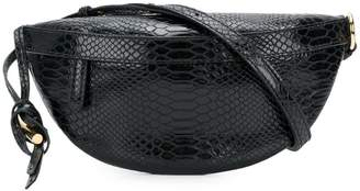 Stella McCartney croco-embossed waist bag