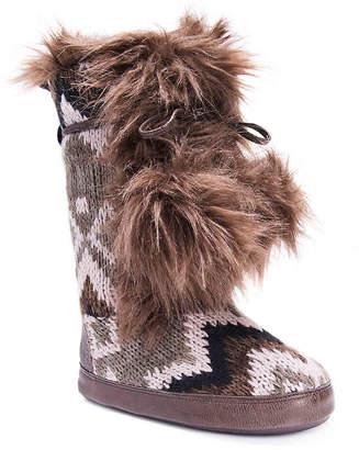 Muk Luks Jewel Boot Slipper - Women's