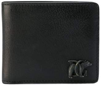 DSQUARED2 DC logo wallet