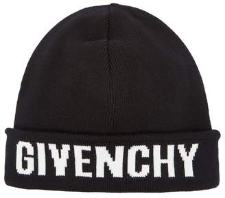 Givenchy Black Cotton-blend Beanie