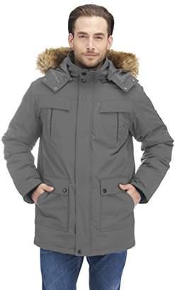 Alpine North Men's Down Parka Coat
