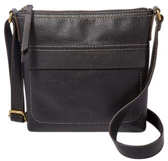 Fossil Aida Small Crossbody Handbags Black
