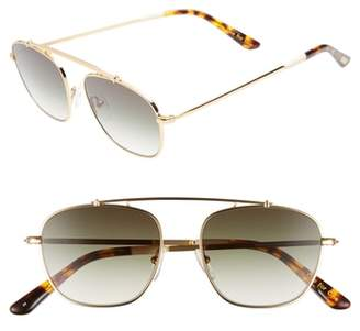 Toms Riley 52mm Sunglasses
