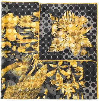 Salvatore Ferragamo tropical print scarf