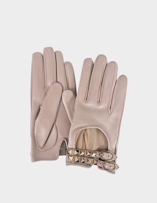 Valentino Rockstud driving gloves