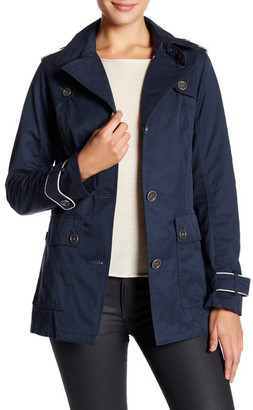 Barbour Front Button Long Sleeve Jacket $349 thestylecure.com