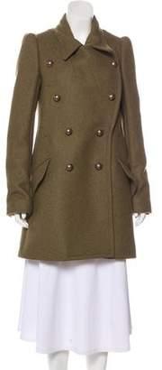 Chloé Knee-Length Wool Coat