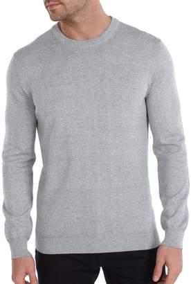 Ben Sherman Warped Prep Faux Grindle Crew Neck Sweater