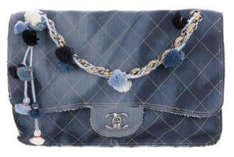3fa2d7731a8d Chanel Large Paris-Dubai Denim Flap Bag