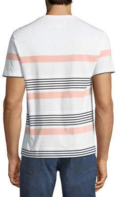 Original Penguin Men's Engineered Safari Striped T-Shirt