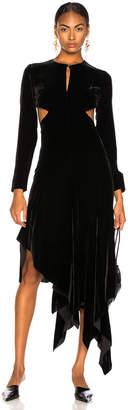 Marques Almeida Marques ' Almeida Cut Out Back Dress in Black | FWRD