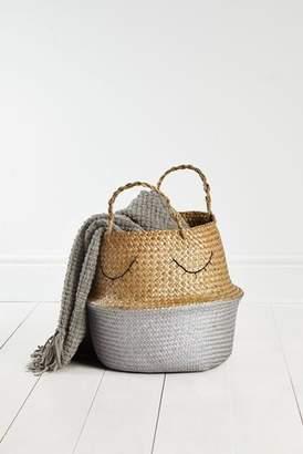 Next Metallic Belly Basket