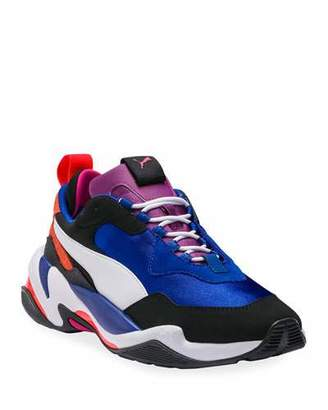 Puma Men's Thunder 4 Life Leather Trainer Sneakers