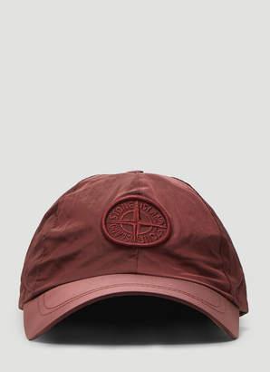 Stone Island Lightweight Cap in Red