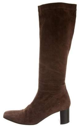 Robert Clergerie Clergerie Paris Square-Toe Knee-High Boots
