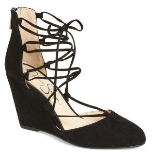 Women's Jessica Simpson Jacee Lace-Up Wedge $88.95 thestylecure.com