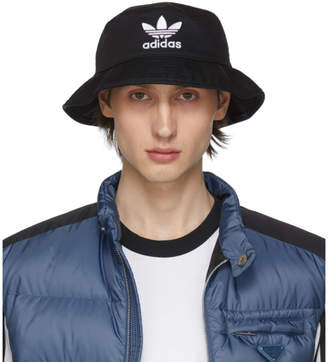 adidas Black Adiocolor Bucket Hat
