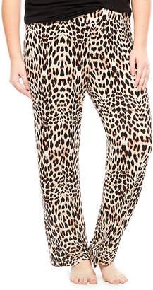 JCPenney Ambrielle Knit Pajama Pants - Plus
