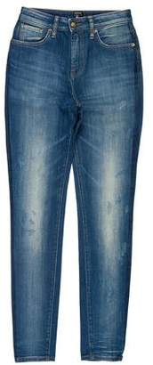 PRPS Distressed Mid-Rise Skinny Jeans w/ Tags