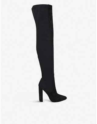 Steve Madden Essence faux-suede over-the-knee boots