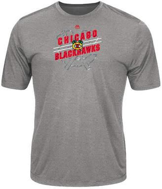 Majestic Men's Chicago Blackhawks Drop Pass T-Shirt
