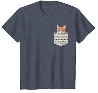 Cute Kitten in Your Pocket - Fun Real Animals Cat Shirt