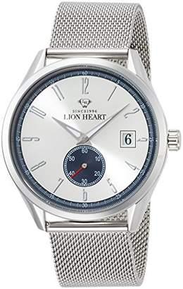 Lion Heart (ライオン ハート) - [ライオンハート]Lion Heart 腕時計 W103 ステンレススチール メッシュバンド ホワイト文字盤 クォーツ 日常生活防水 LHW103SWH 腕時計