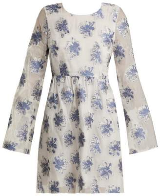 Athena PROCOPIOU In The Hills floral fil-coupé organza dress