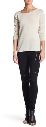 Abound Faux Leather Detail Legging $19.97 thestylecure.com