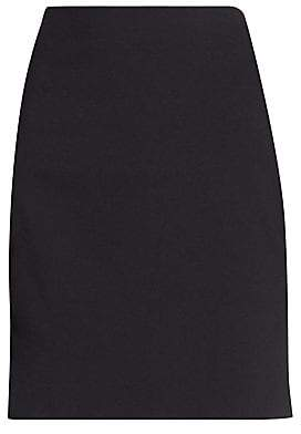 Akris Punto Women's Elements Jersey Mini Skirt