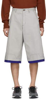 Keenkee Grey Worker Shorts